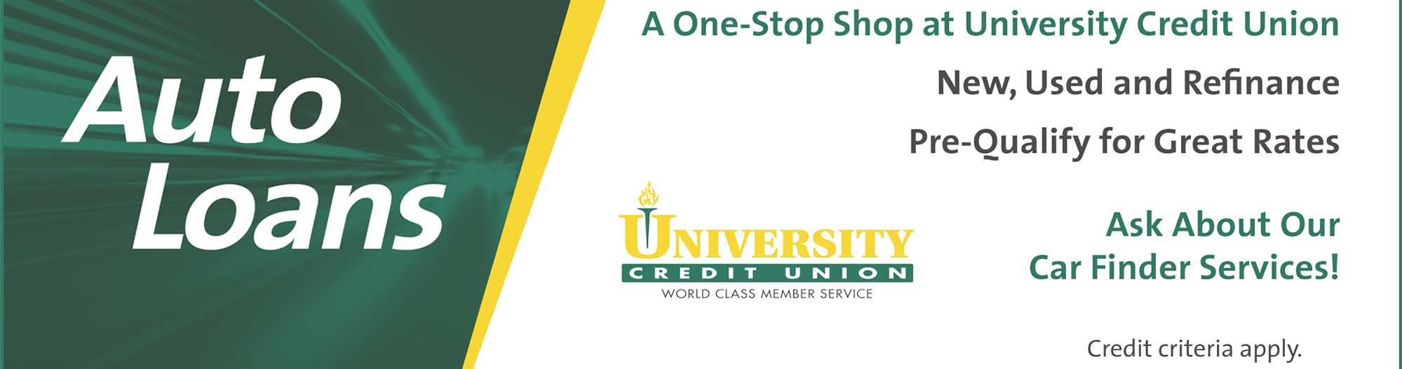 New University Credit Union Car Finder Service