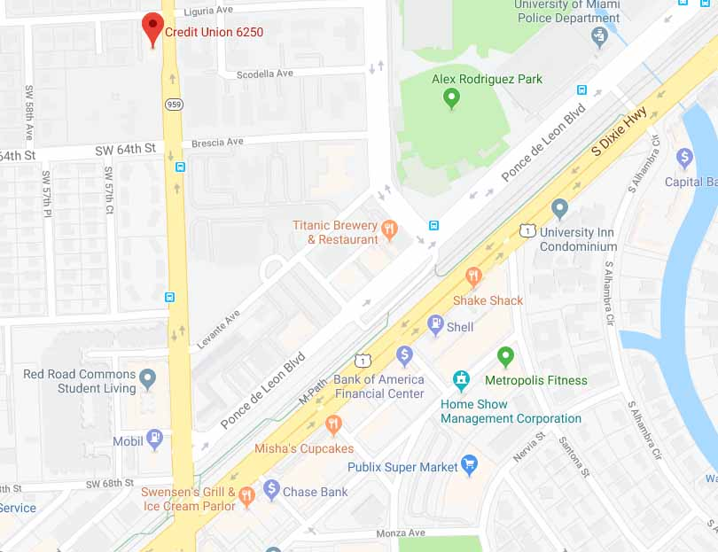 Google map for our Red Road branch